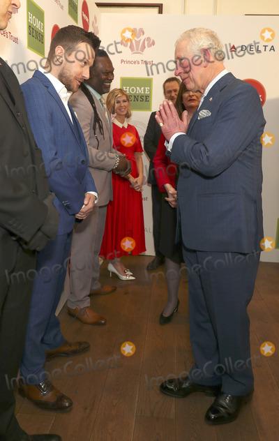 Roots Photo - 11032020 - Chris Ramsey Levi Roots Kate Garraway and Prince Charles at The Princes Trust Awards 2020 At The London Palladium Photo Credit ALPRAdMedia