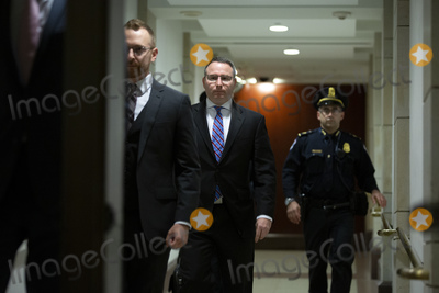 Alexander Vindman Photo - Lieutenant Colonel Alexander Vindman a military officer at the National Security Council center arrives at the US Capitol on Thursday November 7 2019 to review transcripts from his closed-door testimony before House committees on Tuesday October 29 2019 on Capitol Hill in Washington DC US  Credit Stefani Reynolds  CNPAdMedia