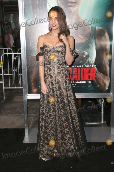 Alicia Vikander Photo - 12 March 2018 - Hollywood California - object Tomb Raider Los Angeles Premiere held at TCL Chinese Theatre Photo Credit F SadouAdMedia