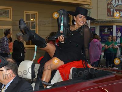 Beck Photo - 08 September 2018 - Atlantic City NJ-  Miss Wyoming Beck Bridger  2019 Miss America Pageant Show Us Your Shoes parade on the Atlantic City Boardwalk  Photo Credit MJTAdMedia