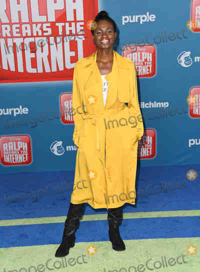 Adina Porter Photo - 05 November 2018 - Hollywood California - Adina Porter  Disneys Ralph Breaks the Internet Los Angeles Premiere held at El Capitan Theater Photo Credit Birdie ThompsonAdMedia