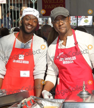 Aldis Hodge Photo - 21 November 2012 - Los Angeles California - Aldis Hodge Blair Underwood Kirk And Anne Douglas Host 8th Annual Thanksgiving For Skid Row Homeless At Los Angele Mission Held At The Los Angeles Mission Photo Credit Kevan BrooksAdMedia