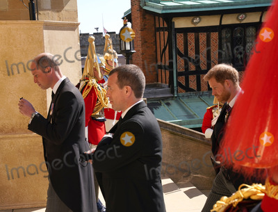 Prince Harry Photo - Photo Must Be Credited Alpha Press 073074 17042021Prince William Duke of Cambridge Peter Phillips Prince Harry Duke of Sussex during the funeral of Prince Philip Duke of Edinburgh at St Georges Chapel in Windsor Castle in Windsor Berkshire No UK Rights Until 28 Days from Picture Shot Date AdMedia
