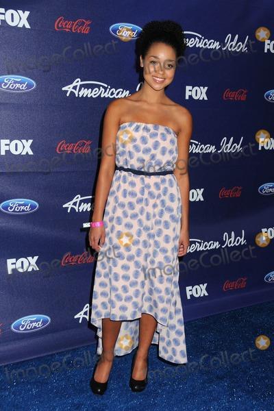 Aisha Dee Photo - 1 March 2012 - Los Angeles California - Aisha Dee American Idol Season 11 Top 13 Finalists Party held at The Grove Photo Credit Byron PurvisAdMedia