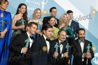 Tony Shalhoub Photo - 19 January 2020 - Los Angeles California - Caroline Aaron Marin Hinkle Rachel Brosnahan Alex Borstein and Matilda Szydagis Kevin Pollak Tony Shalhoub Michael Zegen Luke Kirby The Marvelous Mrs Maisel Cast 26th Annual Screen Actors Guild Awards held at The Shrine Auditorium Photo Credit AdMedia