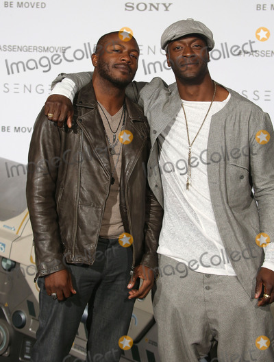 Aldis Hodges Photo - 14 December 2016 - Westwood California - Edwin Hodge Aldis Hodge Passengers Los Angeles Premiere held at Regency Village Theatre Photo Credit F SadouAdMedia