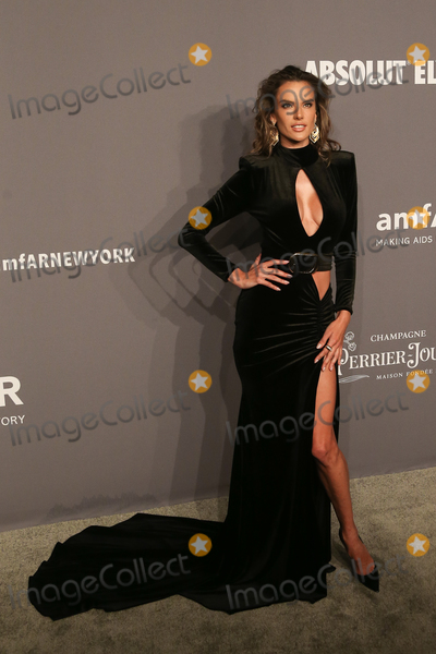 Alessandra Ambrosio Photo - 06 February 2019 - New York NY - Alessandra Ambrosio 21st Annual amfAR Gala New York benefit for AIDS research during New York Fashion Week held at Cipriani Wall Street Photo Credit Debby WongAdMedia