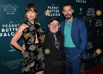 Dakota Johnson Photo - 01 August 2019 - Hollywood California - Dakota Johnson Zack Gottsagen Shia LaBeouf The Peanut Butter Falcon Los Angeles Premiere held at Arclight Hollywood Photo Credit Billy BennightAdMedia