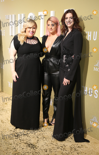 Ann Hathaway Photo - 08 May 2019 - Hollywood California - Rebel Wilson Meghan Trainor Anne Hathaway Premiere Of MGMs The Hustle  held at The ArcLight Hollywood Photo Credit Faye SadouAdMedia