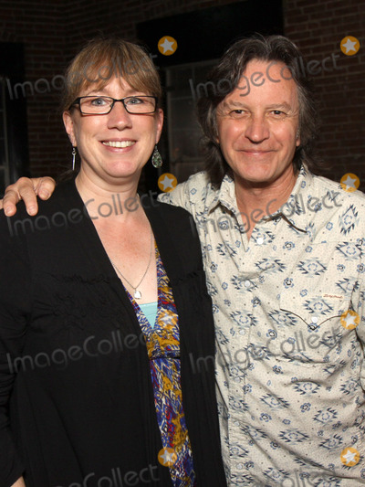 Pete Huttlinger Photo - July 26 2011 - Nashville TN - Nashville publicist Erit Morris and Jeff Hanna of the Nitty Gritty Dirt Band Artists musicians and songwriters came together at Mercy Lounge to help raise funds for Pete Huttlinger a widely respected guitarist and Nashville studio artist  Huttlinger has a congenital heart disease and is in need of a heart transplant Photo credit Dan HarrAdmedia