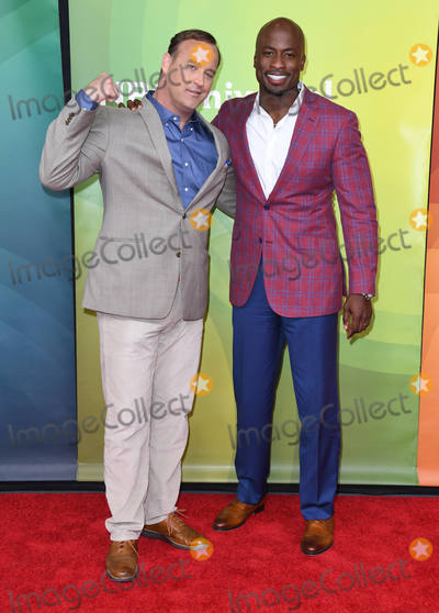 Akbar Gbajabiamila Photo - 02 May 2018 - Universal City California - Matt Iseman Akbar Gbajabiamila  2018 NBCUniversal Summer Press Day held at Universal Studios Photo Credit Birdie ThompsonAdMedia