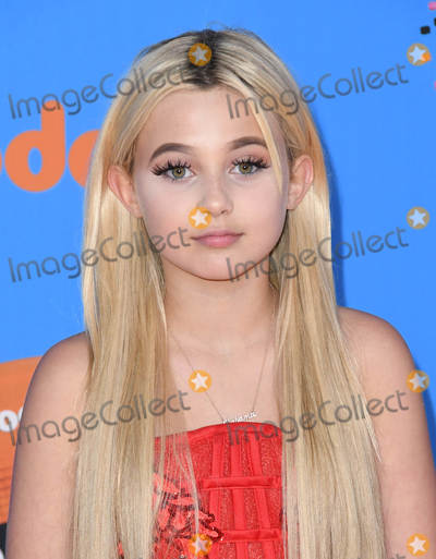 Alabama Barker Photo - 24 March 2018 - Inglewood California - Alabama Barker Nickelodeons 2018 Kids Choice Awards  held at The Forum Photo Credit Birdie ThompsonAdMedia