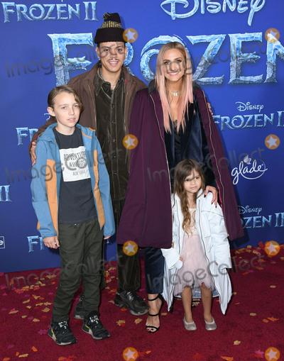 Ashlee Simpson Photo - 07 November 2019 - Hollywood California - Evan Ross Ashlee Simpson Disneys Frozen 2 Los Angeles Premiere held at Dolby Theatre Photo Credit Birdie ThompsonAdMedia