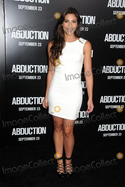 Ana Ayora Photo - 15 September 2011 - Hollywood California - Ana Ayora Abduction World Premiere held at Graumans Chinese Theatre Photo Credit Byron PurvisAdMedia