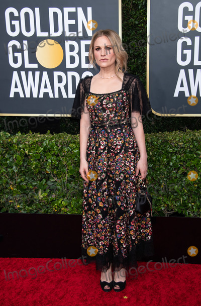 Anna Paquin Photo - 05 January 2020 - Beverly Hills California - Anna Paquin 77th Annual Golden Globe Awards held at the Beverly Hilton Photo Credit HFPAAdMedia