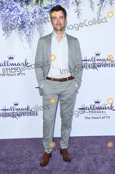Matt Long Photo - 26 July 2018 - Beverly Hills California - Matt Long 2018 Hallmark Channel Summer TCA held at Private Residence Photo Credit Birdie ThompsonAdMedia