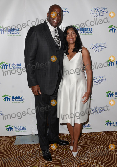 Earvin Magic Johnson Photo - 14 October  2015 - Beverly Hills California - Earvin Magic Johnson Cookie Johnson Habitat for Humanity of Greater Los Angeles Builders Ball celebrates 25 years of service held at Beverly Wilshire Hotel Photo Credit Birdie ThompsonAdMedia
