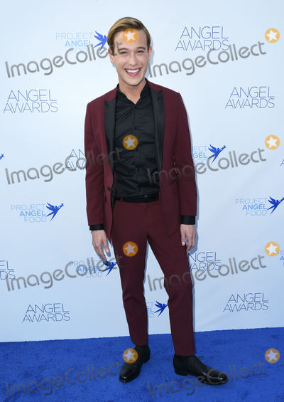 Tyler Henry Photo - 18 August 2018 - Los Angeles California - Tyler Henry 28th Annual Angel Awards Gala held at Project Angel Food Photo Credit Birdie ThompsonAdMedia