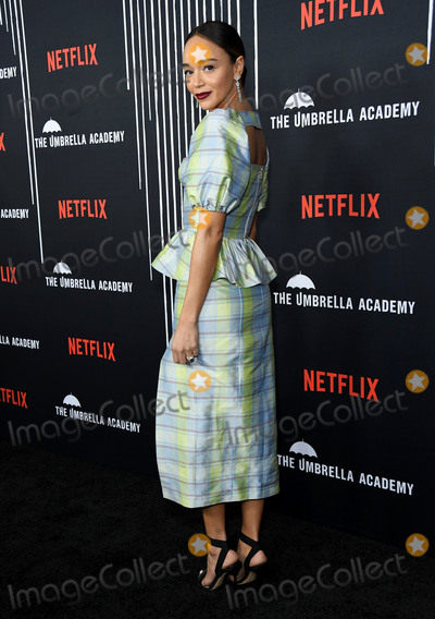 Ashley Madekwe Photo - 12 February 2019 - Hollywood California - Ashley Madekwe Netflixs The Umbrella Academy Los Angeles Premiere held at the Arclight Hollywood Photo Credit Birdie ThompsonAdMedia