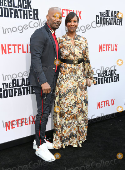 Nicole Avant Photo - 03 June 2019 - Los Angeles California - Jamie Foxx Nicole Avant Netflixs The Black Godfather Los Angeles Premiere held at Paramount Theater Photo Credit Birdie ThompsonAdMedia