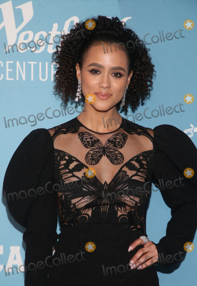Nathalie Emmanuel Photo - 28 January 2020 - Beverly Hills California - Nathalie Emmanuel 22nd Costume Designers Guild Awards held at The Beverly Hilton Hotel Photo Credit FSAdMedia
