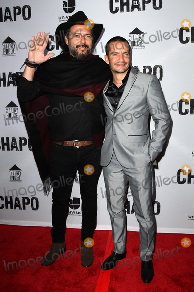 El Chapo Photo - 19 April 2017 - Los Angeles California - Rodrigo Abed and Juan Carlos Olivas Univisions El Chapo Original Series Premiere Event held at The Landmark Theatre Photo Credit AdMedia