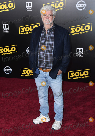 George Lucas Photo - 10 May 2018 - Hollywood California - George Lucas Solo A Star Wars Story Los Angeles Premiere held at Dolby Theater Photo Credit Birdie ThompsonAdMedia