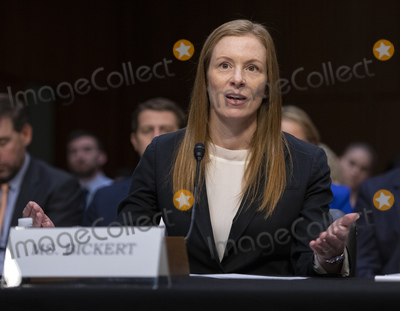 Monika Bickert Photo - Monika Bickert Head of Global Policy Management Facebook testifies before the United States Senate Committee on Commerce Science and Transportation on Mass Violence Extremism and Digital Responsibility on Capitol Hill in Washington DC on Wednesday September 18 2019 Photo Credit Ron SachsCNPAdMedia