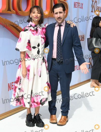 Jason Schwartzman Photo - 02 November 2019 - Westwood California - Rashida Jones Jason Schwartzman Netflixs Klaus Los Angeles Premiere held at Regency Village Theater Photo Credit Birdie ThompsonAdMedia
