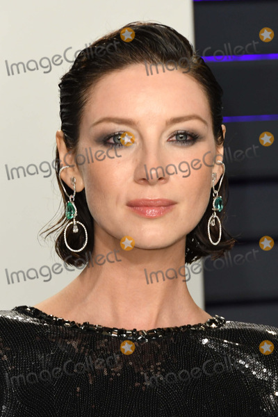 Caitriona Balfe Photo - 24 February 2019 - Los Angeles California - Caitriona Balfe 2019 Vanity Fair Oscar Party following the 91st Academy Awards held at the Wallis Annenberg Center for the Performing Arts Photo Credit Birdie ThompsonAdMedia