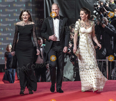 Amanda Berrie Photo - 02022020 - Amanda Berry with Prince William Duke of Cambridge and Kate Duchess of Cambridge Katherine Catherine Middleton at the EE BAFTA British Academy Film Awards 2020 held at the Royal Albert Hall in London Photo Credit ALPRAdMedia