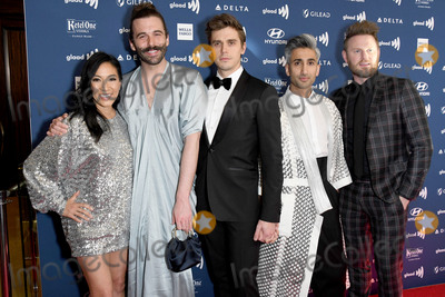 Antoni Porowski Photo - 28 March 2019 - Beverly Hills California - Michelle Kwan Jonathan Van Ness Antoni Porowski Tan France Bobby Burke 30th Annual GLAAD Media Awards held at Beverly Hilton Hotel Photo Credit Birdie ThompsonAdMedia