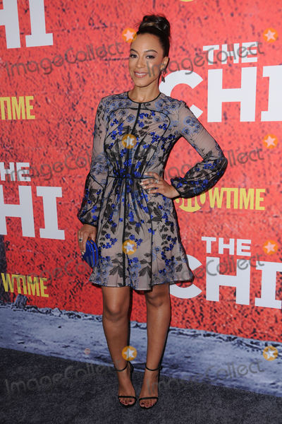 Angela Rye Photo - 03 January 2018 - Los Angeles California - Angela Rye Premiere of Showtimes new series TheChi held at Downtown Independent in Los Angeles Photo Credit Birdie ThompsonAdMedia