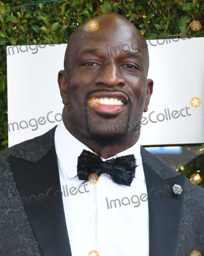 Titus ONeil Photo - 04 October 2019 - Los Angeles California - Titus ONeil WWE 20th Anniversary Celebration Marking Premiere Of WWE Friday Night SmackDown On FOX held at Staples Center Photo Credit Birdie ThompsonAdMedia