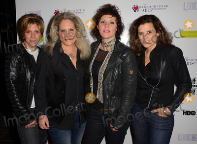 Antigone Rising Photo - 19 March 2015 - West Hollywood California - Dena Tauriello Cathy Henderson Kristen Henderson Nini Camps Antigone Rising Arrivals for the Los Angeles screening of HBOs Looking Season 2 Finale held at The Abbey Food  Bar Photo Credit Birdie ThompsonAdMedia
