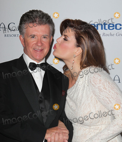 Tanya Callau Photo - 13 December 2016 - Burbank California - Alan Thicke beloved TV dad and real-life father of RB and pop superstar Robin Thicke died Tuesday at age 69 of a heart attack while playing hockey with his 19 year-old son Carter Thicke File Photo 16 November 2012 - Santa Barbara California - Alan Thicke and wife Tanya Callau The Dream Foundations 11th Annual Celebration of Dreams Gala Held At The Bacara Resort  Spa Photo Credit Kevan BrooksAdMedia