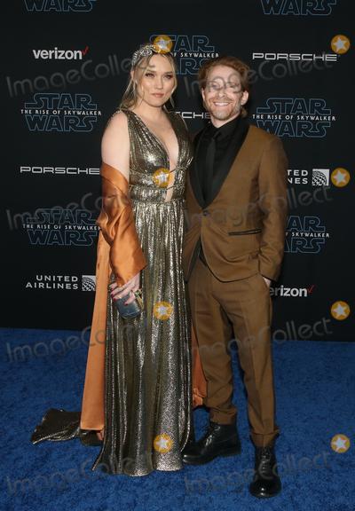 Clare Grant Photo - 16 December 2019 - Hollywood California - Seth Green Clare Grant Premiere Of Disneys Star Wars The Rise Of Skywalker  held at El Capitan theatre Photo Credit FSAdMedia