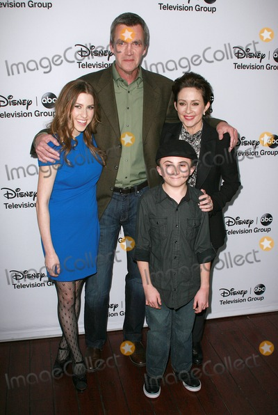 Atticus Shaffer Photo - 011 January 2013 - Pasadena California - Eden Sher Neil Flynn Patricia Heaton and Atticus Shaffer Disney ABC Television Group Hosts TCA Winter Press Tour held at Langham Huntington Hotel Photo Credit Amelie MucciAdMedia