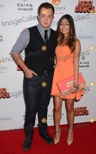 Noah Munck Photo - 20 May 2013 - Hollywood Ca - Noah Munck Cristine ProsperiLos Angeles premiere of Nicky Deuce at ArcLight Theater in Hollywood CaPhoto Credit BirdieThompsonAdMedia