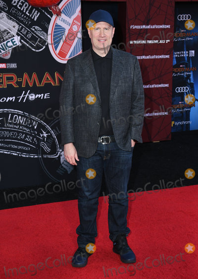 Kevin Feige Photo - 26 June 2019 - Hollywood California - Kevin Feige Spider-Man Far From Home Los Angeles Premiere held at the TCL Chinese Theater Photo Credit Birdie ThompsonAdMedia