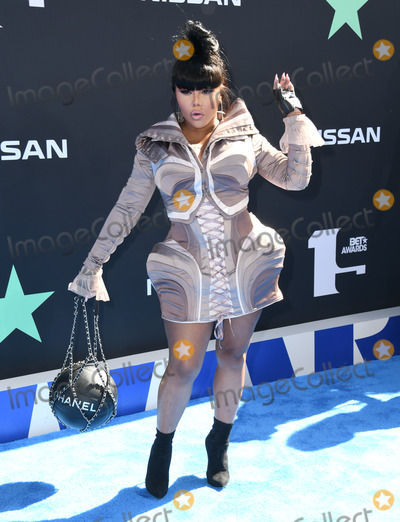 LIL KIM Photo - 23 June 2019 - Los Angeles California - Lil Kim 2019 BET Awards held at the Microsoft Theater Photo Credit Birdie ThompsonAdMedia