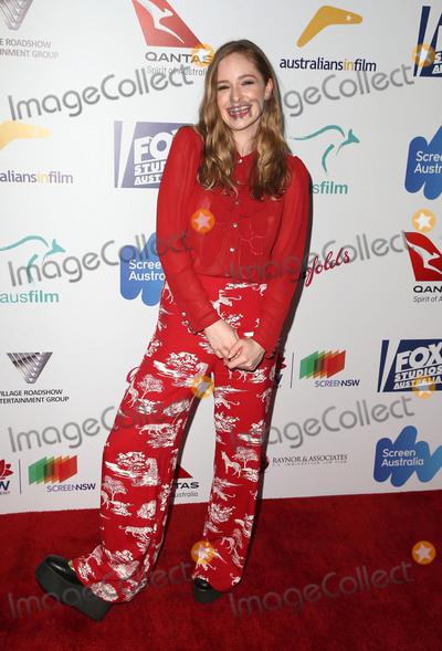 Ashleigh Cummings Photo - 18 October 2017 - Hollywood California - Ashleigh Cummings 6th Annual Australians in Film Awards held at NeueHouse Hollywood Photo Credit F SadouAdMedia