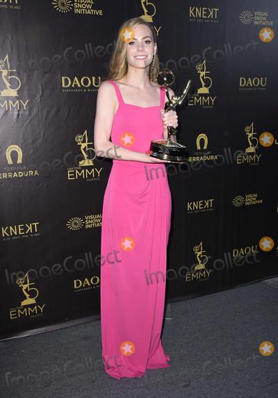 Chloe Lanier Photo - 29 April 2018 -Pasadena California - Chloe Lanier 45th Annual Daytime Emmy Awards held at Pasadena Civic Center Photo Credit Birdie ThompsonAdMedia