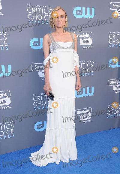 Diane Kruger Photo - 11 January 2018 - Santa Monica California - Diane Kruger 23rd Annual Critics Choice Awards held at Barker Hangar Photo Credit Birdie ThompsonAdMedia