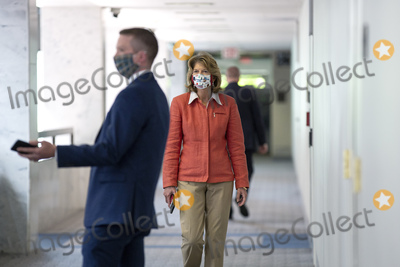 alaska Photo - United States Senator Lisa Murkowski (Republican of Alaska) walks to the GOP Senate luncheon at the Hart Senate Office Building in Washington DC US on Wednesday May 13 2020  Credit Stefani Reynolds  CNPAdMedia