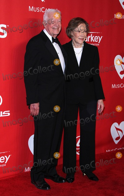 Jimmy Carter Photo - 6 February 2015 - Los Angeles California - Jimmy Carter Rosalynn Carter 2015 MusiCares Person Of The Year Gala Honoring Bob Dylan held at the Los Angeles Convention Center Photo Credit AdMedia