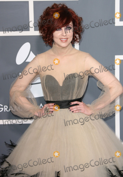 Anna Nalick Photo - 13 February 2011 - Los Angeles California - Anna Nalick The 53rd Annual GRAMMY Awards held at the Staples Center Photo AdMedia