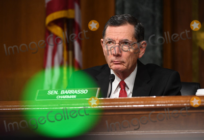 John Barrasso Photo - United States Senator John Barrasso (Republican of Wyoming) listens to opening remarks at a hearing titled Oversight of the Environmental Protection Agency in the Dirksen Senate Office Building on May 20 2020 in Washington DC Andrew Wheeler Administrator United States Environmental Protection Agency (EPA) will be asked about the rollback of regulations by the Environment Protection Agency since the pandemic started in March     Credit Kevin Dietsch  Pool via CNPAdMedia