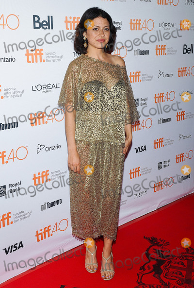 Alias Photo - 10 September 2015 - Toronto Ontario Canada - Alia Shawkat 2015 Toronto International Film Festival - Green Room And The Chickening Premieres held at Ryerson Theatre Photo Credit Brent PerniacAdMedia