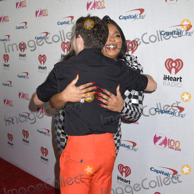 Niall Horan Photo - 13 December 2019 - New York New York - Niall Horan and Lizzo at iHeart Radio Z100s 2019 Jingle Ball at Madison Square Garden Photo Credit LJ FotosAdMedia